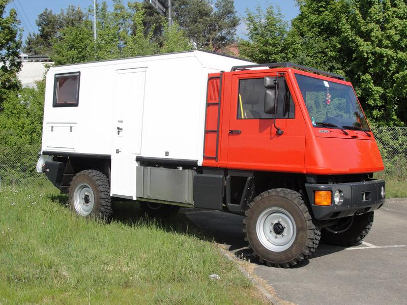 Mercedes Sprinter 4x4 Pick Up >> Duro :: Bucher-Guyer AG | Innenausbau | Umbau | Reisefahrzeug | Expeditionsfahrzeug | Wohnmobil